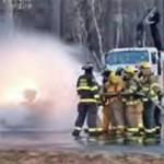 Firefighter training (combustible liquids - propane)