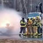 Firefighter training (combustible liquids - propane)