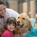 Family w/ their dog