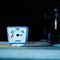 Heating oil tank indicator