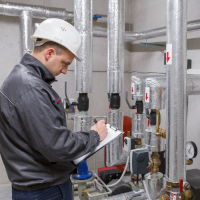Heating system maintenance