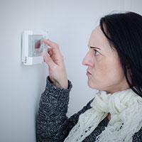 No heat - broken thermostat